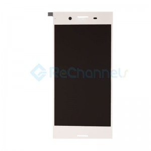 For Sony Xperia XZ Premium LCD Screen and Digitizer Assembly Replacement - Chrome - Grade S+
