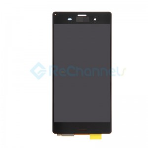 For Sony Xperia Z3 LCD Screen and Digitizer Assembly Replacement - Black - Grade S+