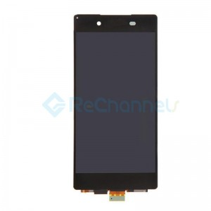 For Sony Xperia Z3+ LCD Screen and Digitizer Assembly Replacement - Black - Grade S+