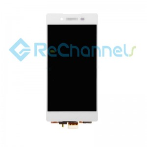For Sony Xperia Z3+ LCD Screen and Digitizer Assembly Replacement - White - Grade S