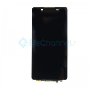 For Sony Xperia Z5 LCD Screen and Digitizer Assembly Replacement - Black - Grade S+