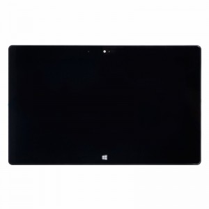 For Microsoft Surface RT LCD Screen and Digitizer Assembly with Front Housing Replacement - Black - Grade S+