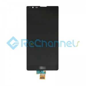 For LG X Power K210 LCD Screen and Digitizer Assembly Replacement (Canada Version) - Black - Grade S+