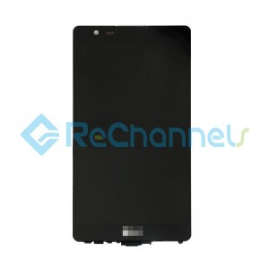 For LG X Power K210 LCD Screen and Digitizer Assembly with Front Housing Replacement (Canada Version) - Black - Grade S+