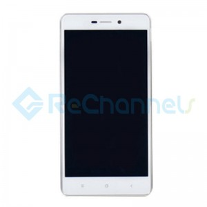 For Xiaomi Redmi 3S LCD Screen and Digitizer Assembly with Front Housing Replacement - White - Grade S