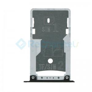For Xiaomi RedMi 4 SIM Card Tray Replacement - Black - Grade S+