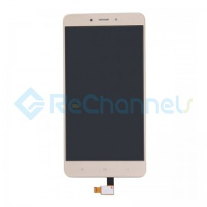 For Xiaomi Redmi Note 4 LCD Screen and Digitizer Assembly Replacement - Gold - Grade S+