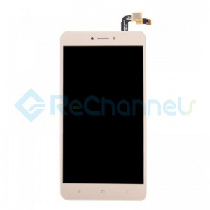 For Xiaomi Redmi Note 4X LCD Screen and Digitizer Assembly Replacement - Gold - Grade S+