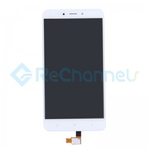 For Xiaomi Redmi Note 4X LCD Screen and Digitizer Assembly Replacement - White - Grade S+