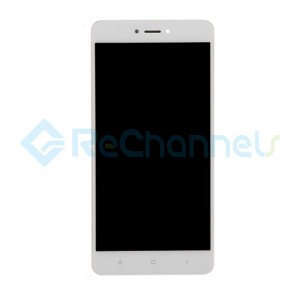 For Xiaomi Redmi Note 4X LCD Screen and Digitizer Assembly with Front Housing Replacement - White - Grade S