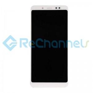 For Xiaomi Redmi Note 5 LCD Screen and Digitizer Assembly Replacement - White - Grade S+