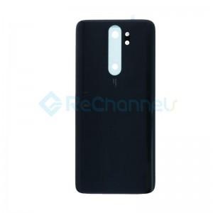 For Xiaomi Redmi Note 8 Pro Battery Door Replacement - Black - Grade S+
