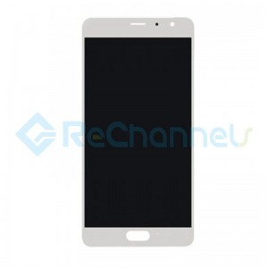 For Xiaomi Redmi Pro LCD Screen and Digitizer Assembly with Front Housing Replacement - White - Grade S+