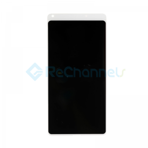 For Xiaomi Mix 2 LCD Screen and Digitizer Assembly Replacement - White - Grade S+