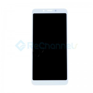 For Xiaomi Redmi 6A LCD Screen and Digitizer Assembly Replacement - White - Grade S+