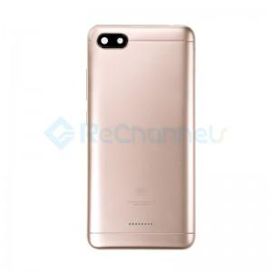 For Xiaomi Redmi 6A Rear Housing Replacement - Gold - Grade S+