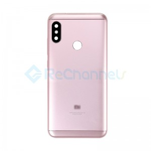 For Xiaomi Redmi 6 Pro Rear Housing Replacement - Pink - Grade S+