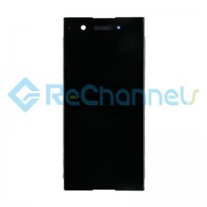 For Sony Xperia XA1 LCD Screen and Digitizer Assembly Replacement - Black - Grade S+