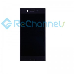 For Sony Xperia XZ LCD Screen and Digitizer Assembly Replacement - Black - Grade S+