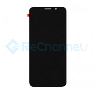 For Huawei Y5 Lite 2018 LCD Screen and Digitizer Assembly with Front Housing Replacement(with Honor logo) - Black- Grade S