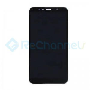 For Huawei Y6 2018 LCD Screen and Digitizer Assembly Replacement - Black - Grade S