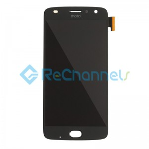 For Motorola Moto Z2 Play XT1710 LCD Screen and Digitizer Assembly Replacement - Black - Grade S