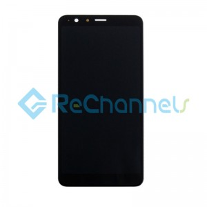 For Asus Zenfone Max Plus(ZB570TL) LCD Screen and Digitizer Assembly Replacement - Black - Grade S