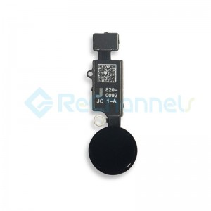 For iPhone 7 / 7+ / 8 / 8+/SE(2020) JC Home Button Flex Cable- Black Replacement - Grade S