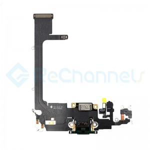 For Apple iPhone 11 Pro Charging Port Flex Cable Replacement - Midnight Green - Grade S+