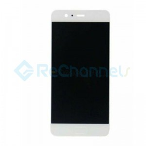 For Huawei P10 LCD Screen and Digitizer Assembly with Front Housing Replacement - White - Grade S+