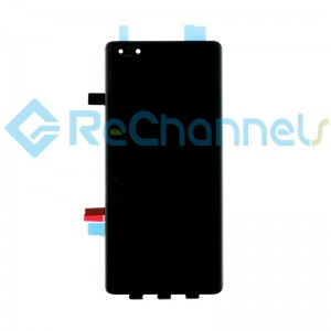 For Huawei Mate 40 Pro LCD Screen and Digitizer Assembly Replacement - Black - Grade S+