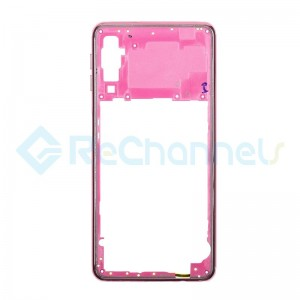 For Samsung Galaxy A7 (2018) SM-A750 Rear Housing  Replacement - Pink - Grade S+