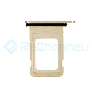 For Apple iPhone 11 Pro/11 Pro Max SIM Card Tray Replacement (Single) - Gold - Grade S+