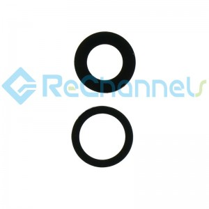 For iPhone 12/12 Mini Rear Camera Glass Lens Replacement -Grade S+ (2 pcs/set)