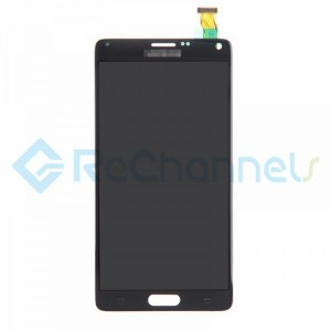 For Samsung Galaxy Note 4 Series LCD Screen and Digitizer Assembly Replacement - Black - Grade S