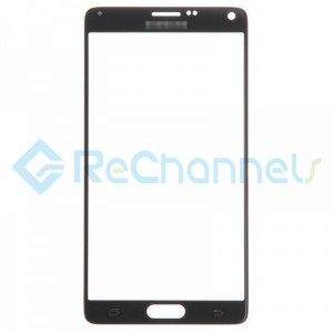 For Samsung Galaxy Note 4 Series Glass Lens Replacement - Black - Grade R