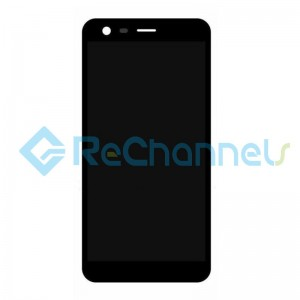 For Nokia 2 LCD Screen and Digitizer Assembly Replacement - Black - Grade S+