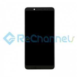 For Xiaomi Redmi Note 5 LCD Screen and Digitizer Assembly with Front Housing Replacement - Black - Grade S