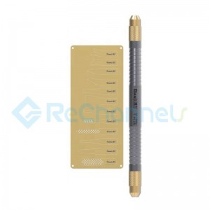 For iPhone Multifunctional CPU IC Chip Glue Remove Knife Thin blade Motherboard Repair Tool Set