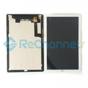 For Huawei MediaPad M5 10.8 CMR-AL09/CMR-W09 LCD Screen and Digitizer Assembly Replacement - White - Grade S