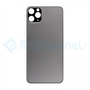 For Apple iPhone 11 Pro  Back Cover Replacement - Space Gray- Grade S