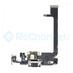 For Apple iPhone 11 Pro Max Charging Port Flex Cable Replacement - Gold - Grade S+
