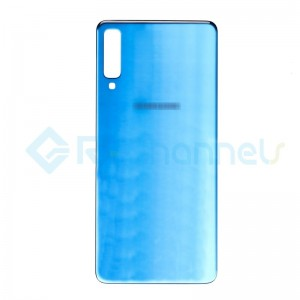 For Samsung Galaxy A7 (2018) SM-A750 Battery Door Replacement - Blue - Grade S+