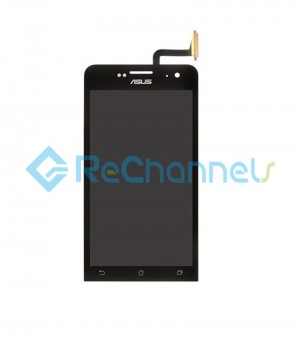 For Asus Zenfone 5(Model ZE620KL) LCD Screen and Digitizer Assembly Replacement - Black - Grade S