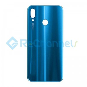 For Huawei P20 Lite Battery Door Replacement - Blue - Grade S+