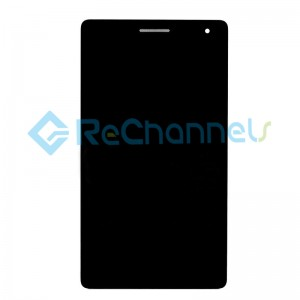 For Huawei MediaPad T3 7.0 BG2-U01 LCD Screen and Digitizer Assembly with Frame Replacement - Black - Grade S+(3G Version)