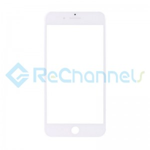 For Apple iPhone 7 Plus Glass Lens Replacement - White - Grade S+