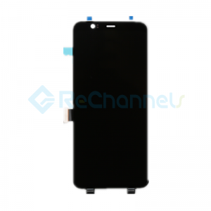 For Google Pixel 4 XL LCD Screen and Digitizer Assembly Replacement - Black - Grade S+