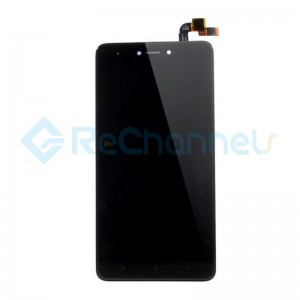 For Xiaomi Redmi Note 4X LCD Screen and Digitizer Assembly with Front Housing Replacement - Black - Grade S