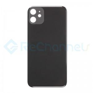 For Apple iPhone 11 Battery Door  Replacement - Black - Grade S